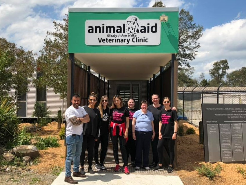 Animal Aid Corporate Volunteers